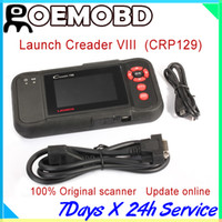 Wholesale Professional LAUNCH Creader VIII CRP129 Original Auto Code Reader OBD2 Scanner Support Cars CREADER Launch leagal distributor