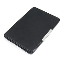 Wholesale S5Q Colourful Slim Crazy horse PU leather Magnetic Folio Case Cover For Kindle Paperwhite AAACDZ