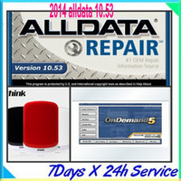 Wholesale 2014 fit all amp bit windows system Alldata GB Mitchell Ondemand g total in1 with a G hard disk car repair software