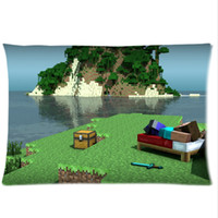 Wholesale The Home of Animation Enthusiasts Minecraft Custom Rectangle single Pillow Case x30 Side From Anime Fans MC1