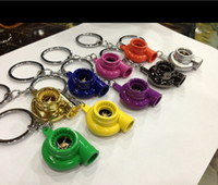 Wholesale turbo piston shock keychain TURBO key ring ornaments