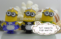 Wholesale cartoon gift usb real capacity gb gb gb gb gb minions despicable me pen drive