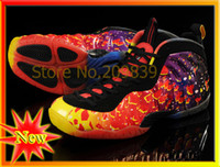other Flat Men New Arrival Foamposite Pro Basketball Shoes 2013 Fashion Cheap Sneakers For Men 2 Color High Quality Free Shipping