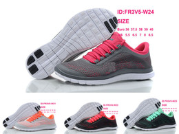 Wholesale Athletic Womens Free Run V5 Running shoes Top quality girls free run v5 sport tennis shoes size