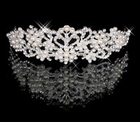 Wholesale 2014 In Stock Order Forever Bridal Accessories Tiaras Hair Accessories Crystal Rhinestone Cheapest On Sale Romantic Elegant Night EA506