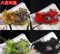 PVC Bauta Mask Christmas Wholesale - masquerade masks Lace diamond Party mask Venetian mask women Lady Sexy masks freeshipping S33