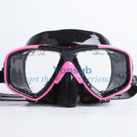 Wholesale Professional Blue Scuba Diving goggles Equipment Dive Mask Dry Snorkel Set Scuba Snorkeling Gear Kit