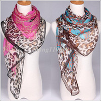 Wholesale 2013 slanting stripe silk chiffon silk scarf air conditioning spring and autumn leopard print scarf cape