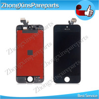 Wholesale For Iphone Lcd Display With Digitizer Touch Panel Screen Replacement For iphone Lcd For Iphone5 G Original Lcd