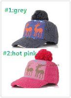 Wholesale Princess Snapback Hat warm winter day plush Baseball Cap Fashionable
