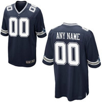 Wholesale Personalized American Football Jerseys Customized New Elite Embroidery Stitched On Field Jersey size