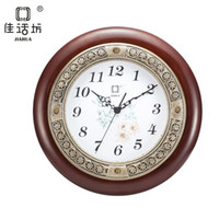 other   Continental European retro carved elephants Place living room wall clock fashion wall clock modern simple European jade Ryoen