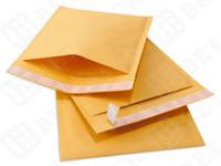Revisiones Burbuja de papel kraft-De buena calidad Kraft Bubble Mailers CD tamaño 6.5X8.5 papel de burbujas de venta caliente
