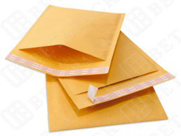 Wholesale Good Quality Kraft Bubble Mailers CD Size X8 Paper Bubble Mailers hot selling