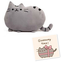 Wholesale Pusheen the Cat big pillow cushion biscuits cat plush toy doll birthday gift Sofa Decor Home Decoration