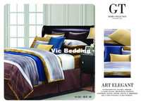 Adult Twill 100% Cotton Brand Designer High Quality 1200TC Luxury pure egyptian cotton 4pc Bedding Sets Bedclothes Bedspread bedlinen queen king size