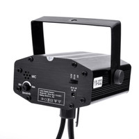 Wholesale Black New Mini Laser Star Club Projector Stage Lighting EU plug CL
