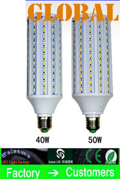 Wholesale 10 Piece W LED Bulb Corn Bulbs Lamp SMD w w LM E27 E26 B22 E14 V V V V indoor Light Leds via DHL