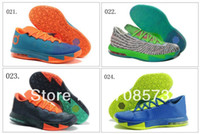 Football Men PU 31 Colours Wholesale Air KD VI 6 Men's Basketball Sport Footwear Sneakers Trainers Shoes ( 21 - 31 Colours)