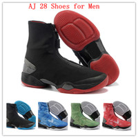Wholesale 2013 New Arriver Hot Sale Cheap Authentic Brand Men s J28 Basketball Shoes Sneakers Super A Top Quality EUR Size
