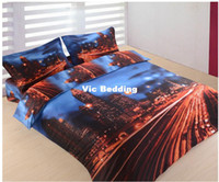 Adult Twill 100% Cotton Wholesale of cotton bedding set city duvet cover flat sheet pillowcase bedclothes bed linnen quilt cover coverlet bedspreads