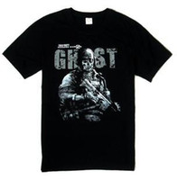 Men black cod - COD Call Of Duty BLACK OPS II Xbox360 PS3 PC Black t shirt tee for man