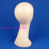 Wholesale Quality female props scarf hat wig head model display mannequin