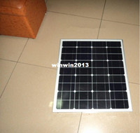 Wholesale newly w solar panel for V system monocrystalline photovoltaic panel solar module solar panel for home