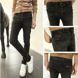 Wholesale Personality Jeans Men tideway slim Cotton jeans