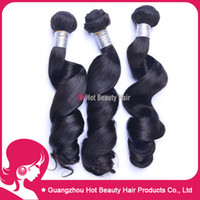 Wholesale 15 OFF Bestselling Softest and Smoothest Human Hair Weave Loose Wave Peruvian Virgin Hair Dancing Curl quot