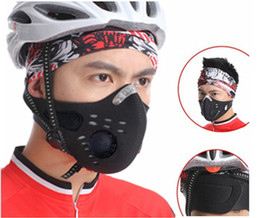 Wholesale 10pcs Wolfbike Anti dust Motorcycle Cycling Riding Snowboarding Climbing Half Face Masks Non woven Fabric BE107 W1009A