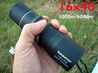 Wholesale 16X40 Outdoor Sports Camping Hunting Spotting Scope Monocular cope For Day Night
