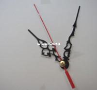 Precio de Relojes de cuarzo piezas-buque libre 100pcs/lot cuarzo movimiento relojes mecanismo reloj piezas de accesorio del huso con Metal hora/minuto/segundo manos/aguja