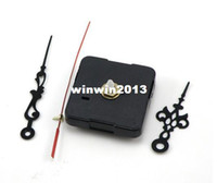 Wholesale mute Quartz Clock Movement Kit Spindle Mechanism with hands high accuracy