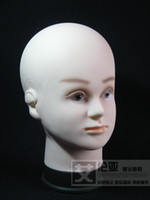 Wholesale Filling male model head pvc wig display hat mannequin