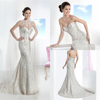 New Arrival Attractive 2014 Mermaid Wedding Dress Sweetheart...