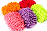 Wholesale Multifunctional chenille shoe covers clean slippers lazy drag shoe mop caps gifts Five pairs of