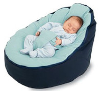 baby chair seats - Doomoo Style Baby Seat Bean bag Blue original doomoo seat Beanbags sofa chair newborn kid snuggle beds