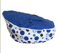 Wholesale Blue spot baby bean bag doomoo seat