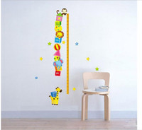 Wholesale Home Park children room cartoon Height Wall sticker circus Kids Growth Chart height measurement ruler