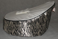 Wholesale zebra stripe baby bean bag baby bean bag bed baby bean bag chair domoo seat