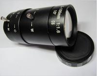 Wholesale CCTV Lens Vari focal Manual Iris CS mount lens mm manual zoom manual iris lens camera monitoring long distance irradiation