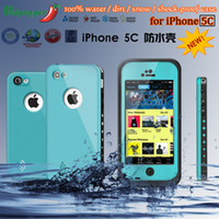 10 colors Waterproof Case Cover for Iphone 5C Dirt Snow Shoc...