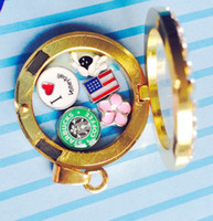 Wholesale 200pcs floating locket charms mixed floating charms for glass memory living floating locket pendant Xmas gift no locket