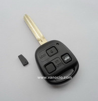 Wholesale for Toyota Prado Camry Previa Wish car Button Remote key control mhz