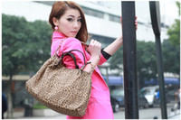 Wholesale Fashion Brand PU Women Lady Totes OPPO ELegant Leopard Shoulder Bags Handbags