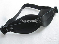 Wholesale Leather Sex Eye Mask Blindfold Bondage Sex Game Toys Adult Products YTJ454