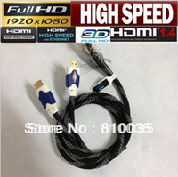 Wholesale amp ft M High speed HDMI cable cord supports Ethernet D amp audio return channel for Xbox PS3 DVD