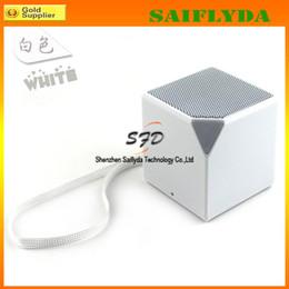 Wireless Bluetooth Stereo Well-know Speaker Portable Magic Cube HiFi Square mini speaker