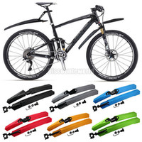 Wholesale Mountain Bike Bicycle Front amp Rear Tire Mudguards Fender Mud Guards Set cx35